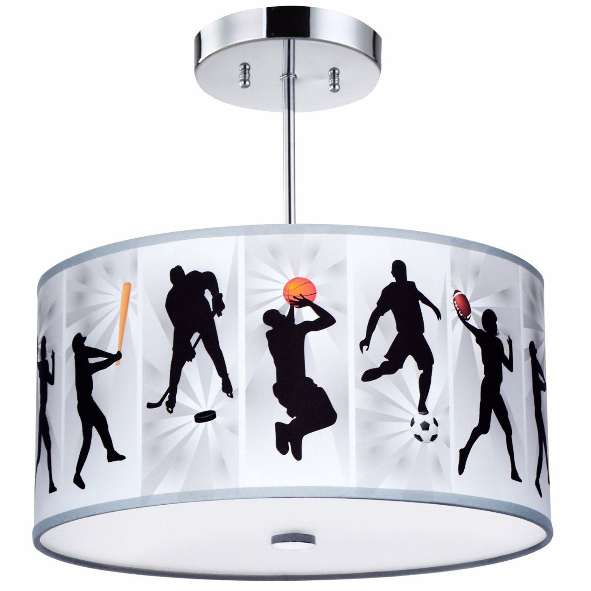 All-Sports Light Fixture, 3-Light | New house ideas | Pinterest ...