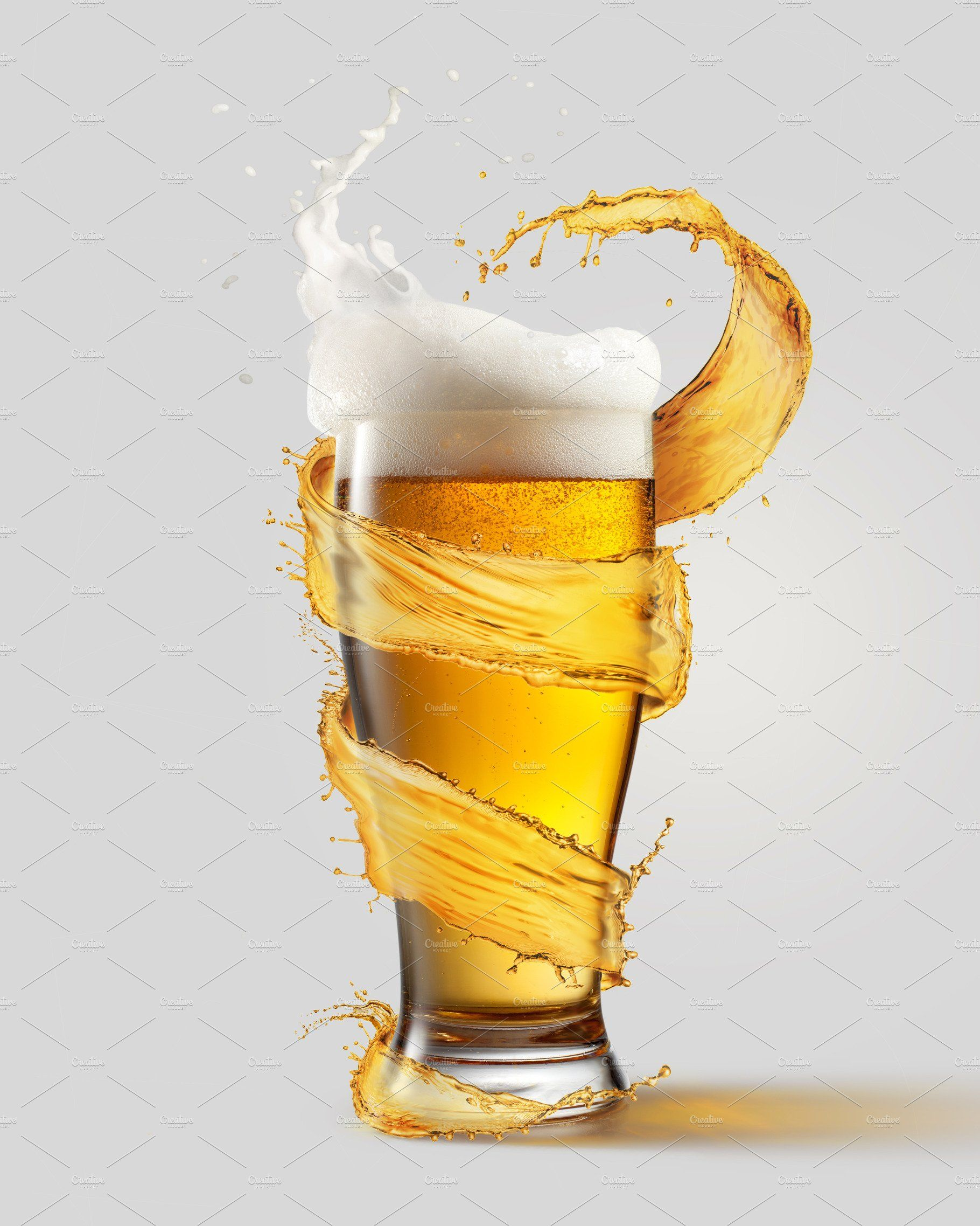 A Cold Glass Of Beer And A Splash Beer Beer Glass Beer Art