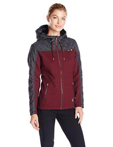 Spyder Womens Vintage Mid Weight Stryke Jacket