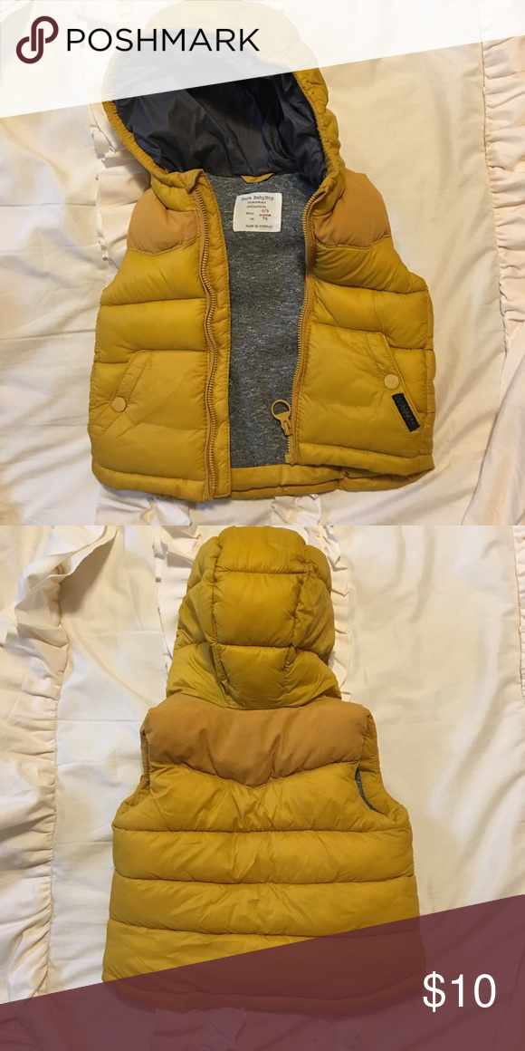 ZARA Baby Boy Puffer Vest — Size 6-9 Months   Zara baby ...