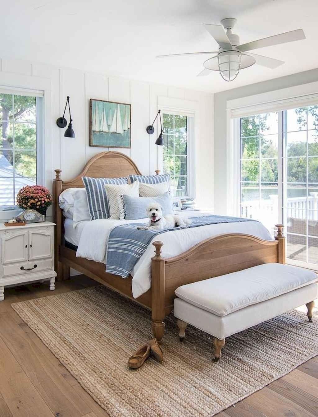 Small Master Bedroom Design with Elegant Style #coastalbedrooms