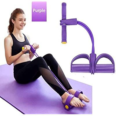 amazon  vamvie pedal resistance band home gym situp