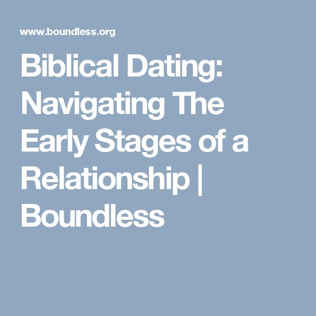 Boundless org biblical dating