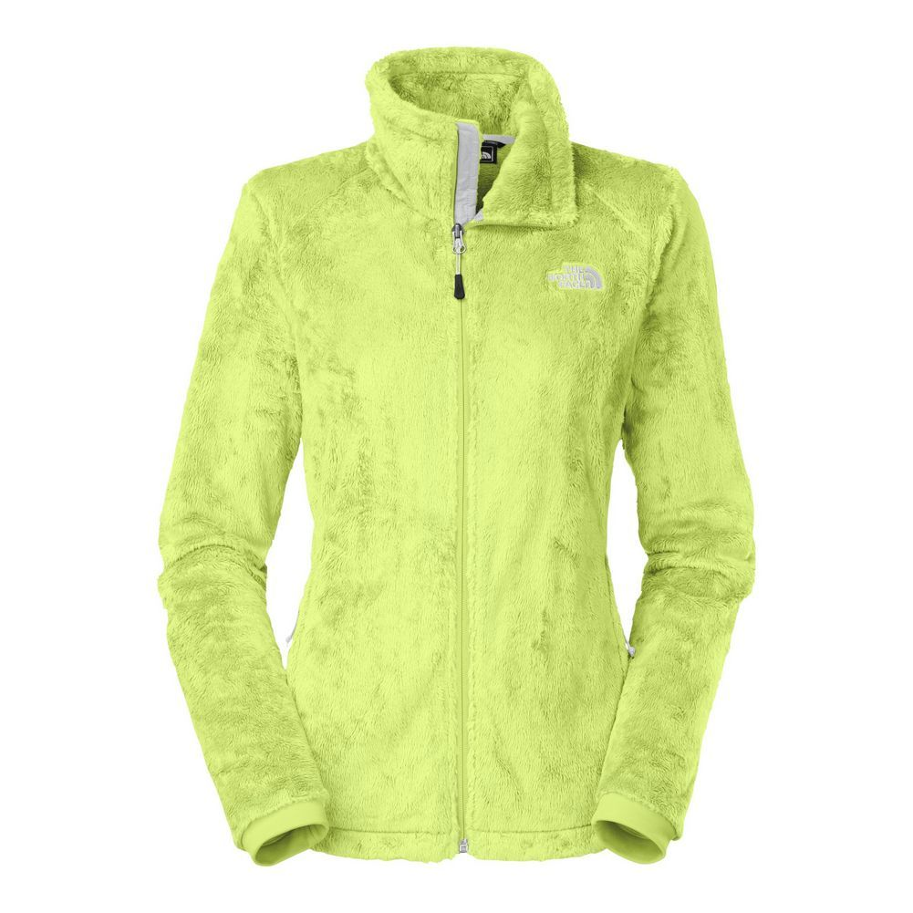 lime green north face jacket | north face the north face osito 2 ...