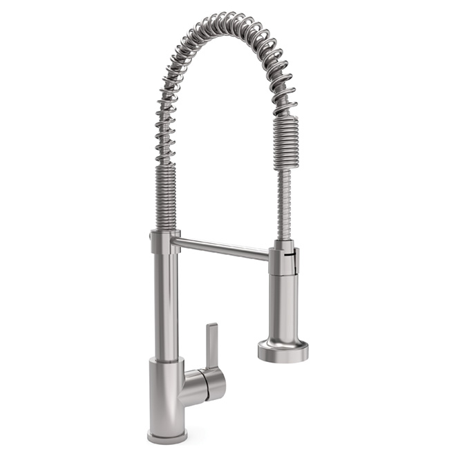 chef quot kitchen faucet stainless