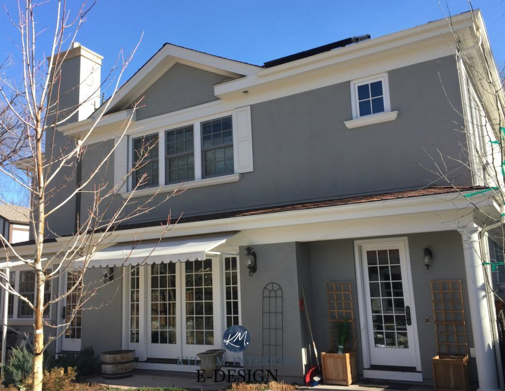 The 9 Best Benjamin Moore Paint Colors Grays Including Undertones Benjamin Moore Paint Colors Gray Paint Colors Benjamin Moore Gray House Exterior