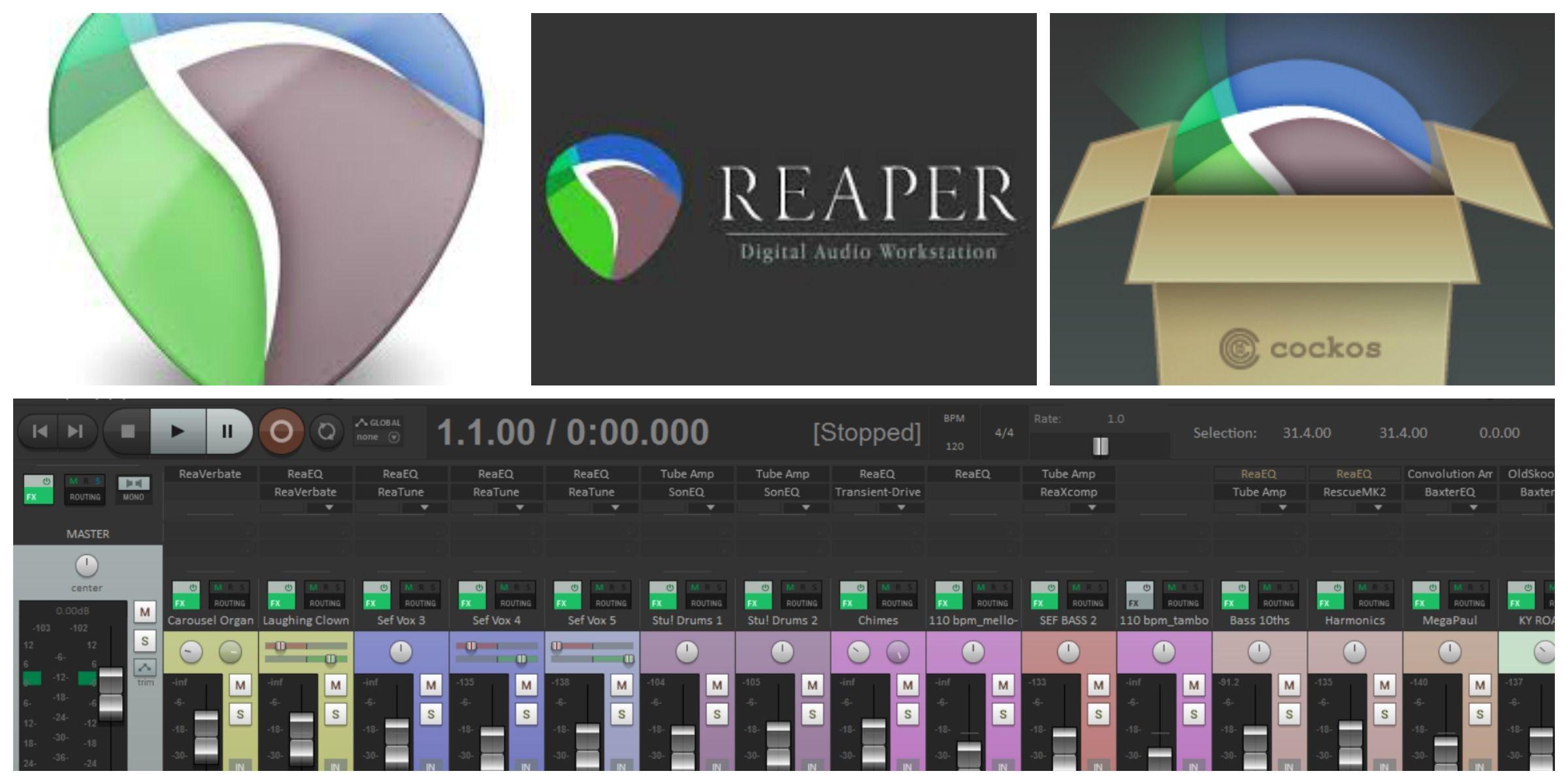 Reaper 5   2016   Digital Audio Workstation (DAW)   Reaper DAW