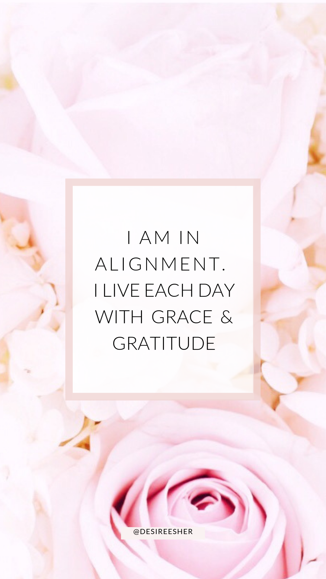 The Power of Affirmations - Desiree Sher