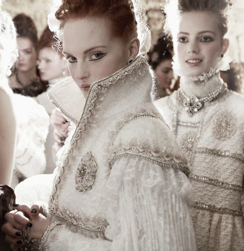 #backstage #couture