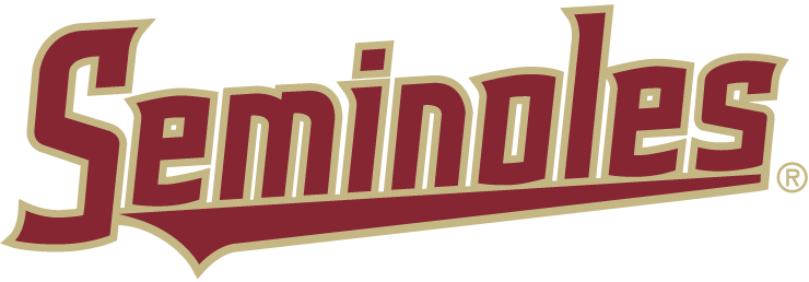 Florida State Seminoles Wordmark Logo 2014 Word Mark Logo Florida State University Florida State