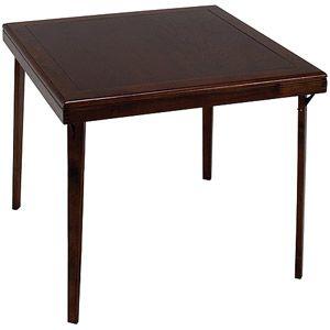 Canopy Solid Wood Folding Table Mahogany Finish 50 At Walmart