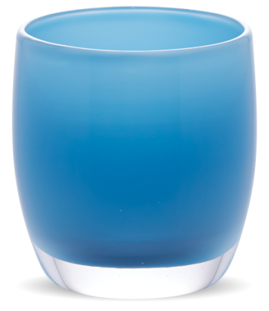 Fortitude glass votive candle holders | glass votives | glassybaby