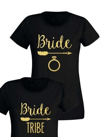2f367d420d Bride Tribe Hen Party T-shirt. Our Bride & Tribe T-shirts are great for hen  weekends and hen nights.