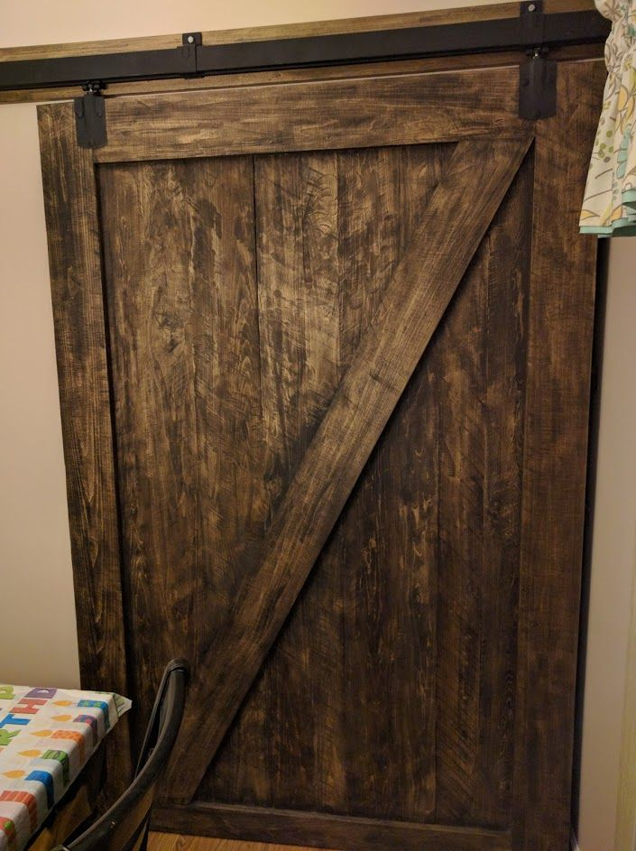 You Can Build Your Own Interior Barn Door It Doesnt Take A Lot Of