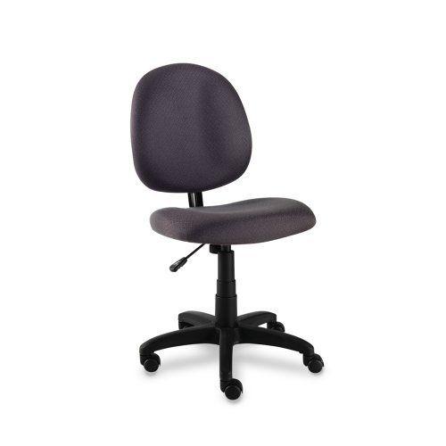 Alera Essentia Series Swivel Task Chair Acrylic Gray By Alera