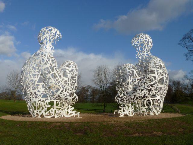 Jaume Plensa: Yorkshire Sculpture Park