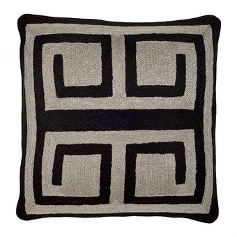 Suz loft Eicholtz  Pillow Bliss Black Grey