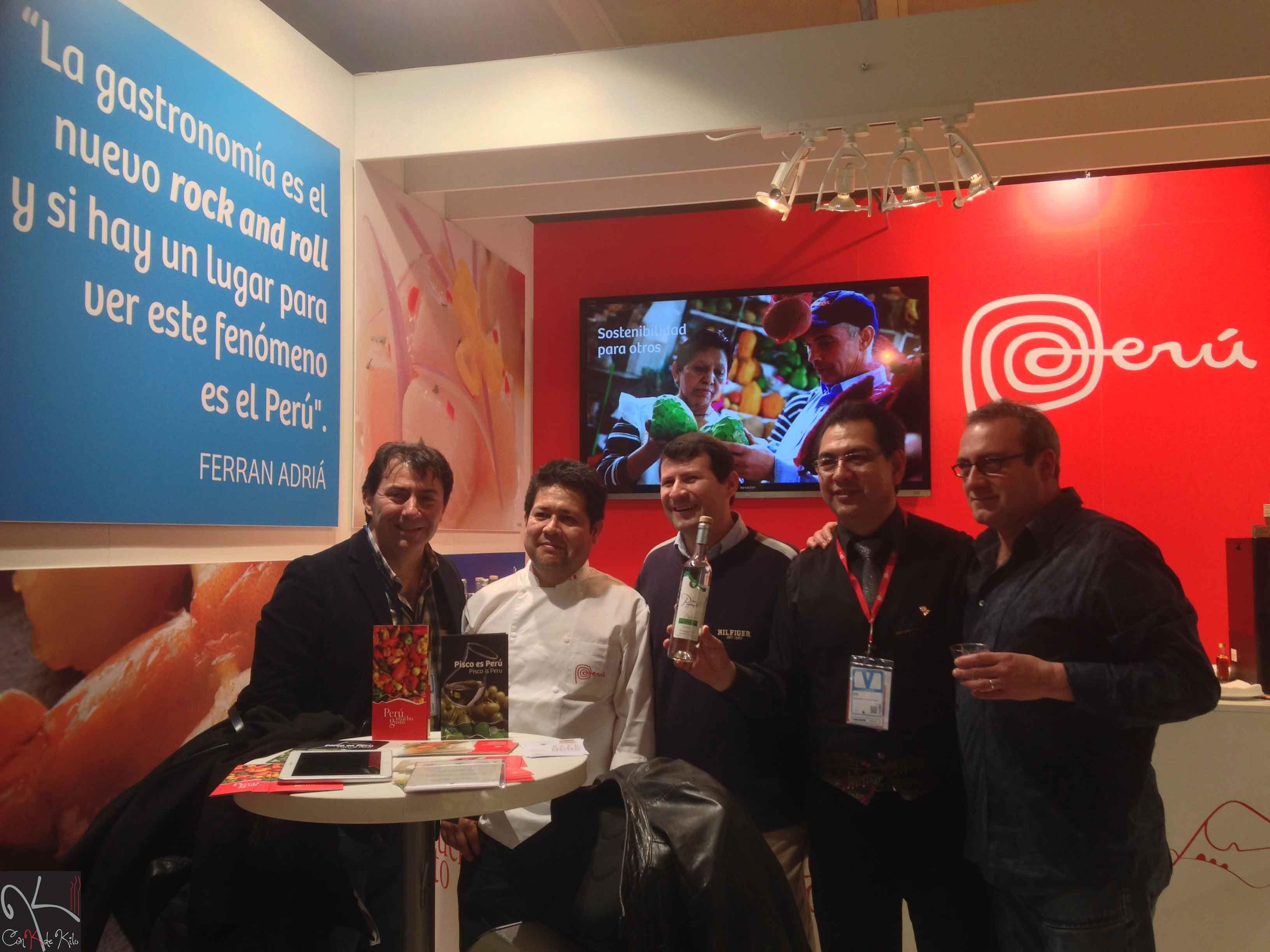 Perú, Madrid Fusión 2014.