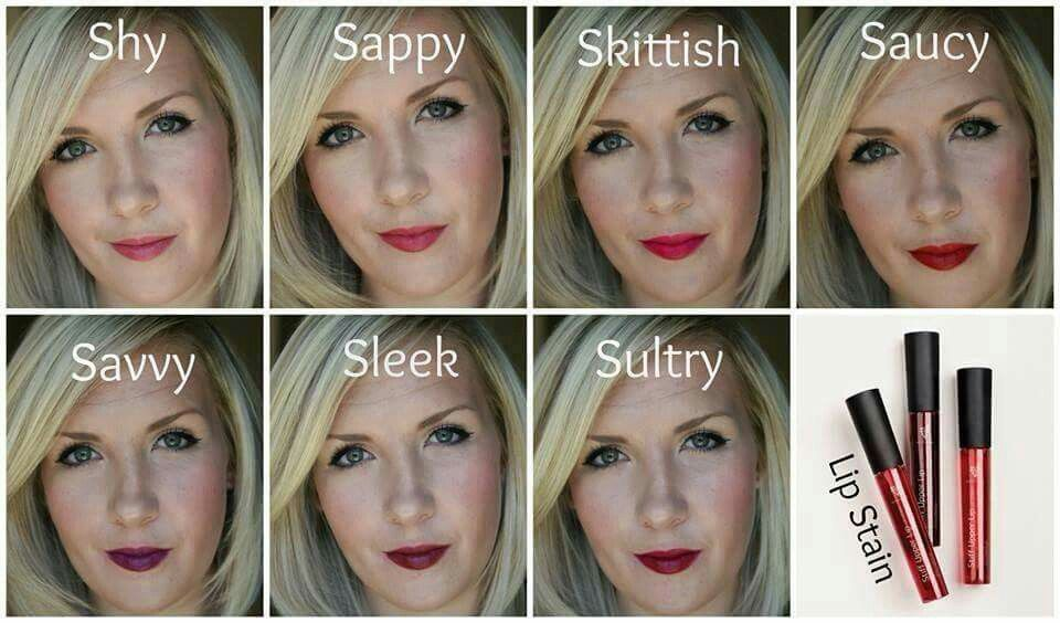 Look at all those colors!! Younique lip stain is the best! Color that lasts without drying out your lips! $22 for one or 3 for $60.