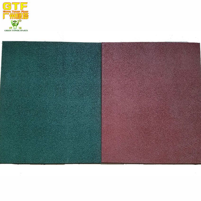 30mm Thickness Rubber Flooring Outdoor Playground Safety Mat Other