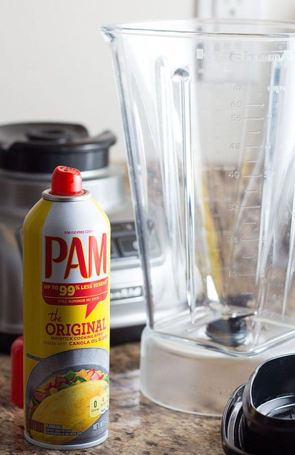 In The Kitchen Hacks With Pam Cooking Spray Pam Cooking Spray Gluten Free Smoothie Diy Cooking