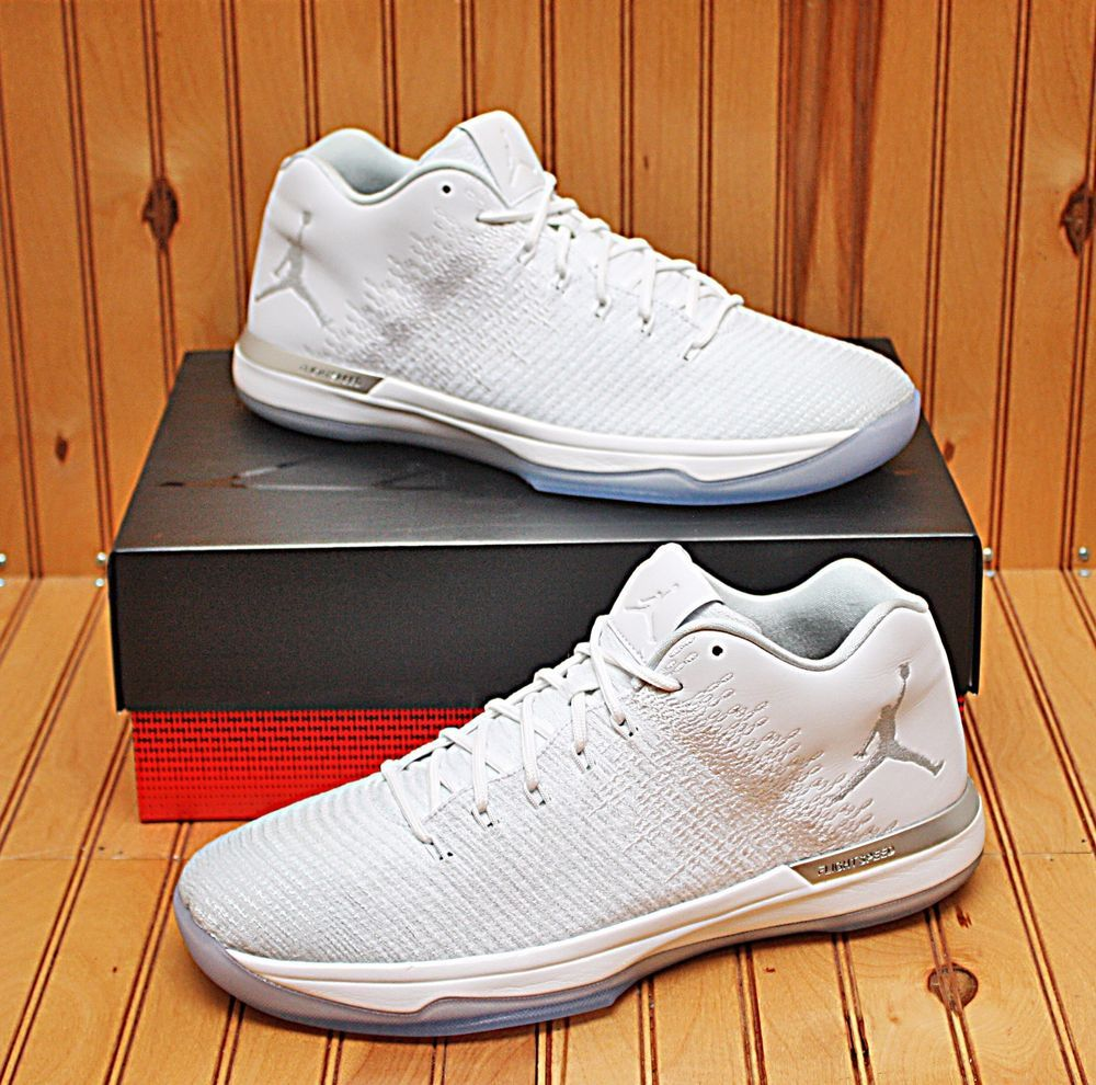 san francisco 2d549 1fe68 2016 Nike Air Jordan XXXI 31 Low Size 12.5 - White Pure Platinum - 897564  100   Clothing, Shoes   Accessories, Men s Shoes, Athletic   eBay!
