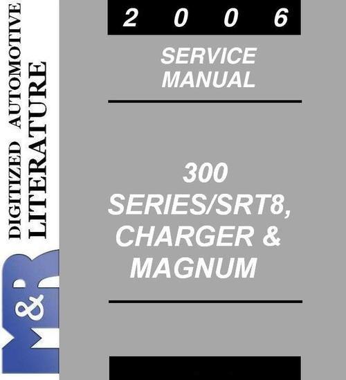 2006 Chrysler 300 300c Srt8 Original Service Manual The Same Manual Cover Download Procedural Writing Chrysler 300 Electrical Wiring Diagram