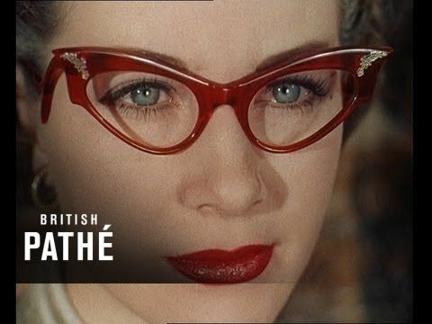 a818afad9dc 1950s Glasses Fashions - Sexy Spectacle Trends! (1950s) - YouTube ...