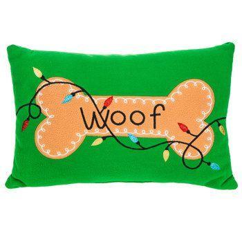 Woof Dog Bone Pillow  Hobby Lobby  5856372