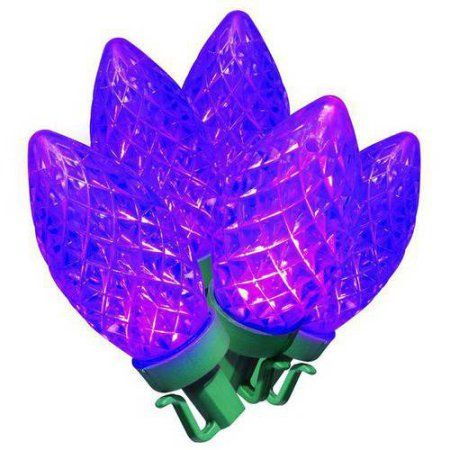 Christmas Shop For Holiday Time LED Super Bright Diamond Cut C9
