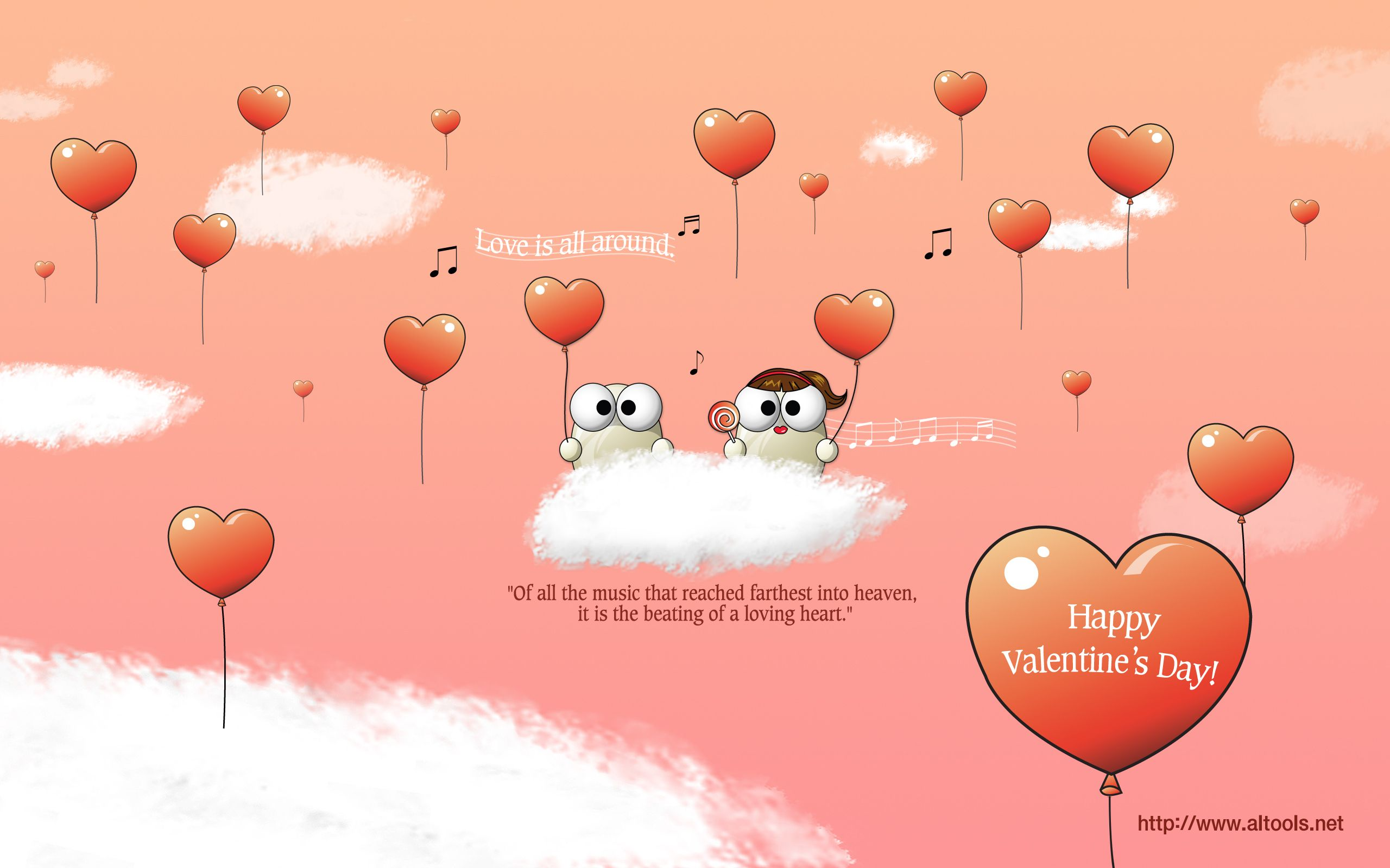 Happy Valentines Day Inspirational Quotes For Kids Decals Love Is All Around Valentine Quotes For Valentines Wallpaper Valentines Day Funny Disney Valentines