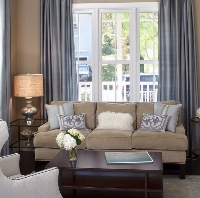 Earth tones with a pop of blue | Home Sweet Home | Pinterest ...