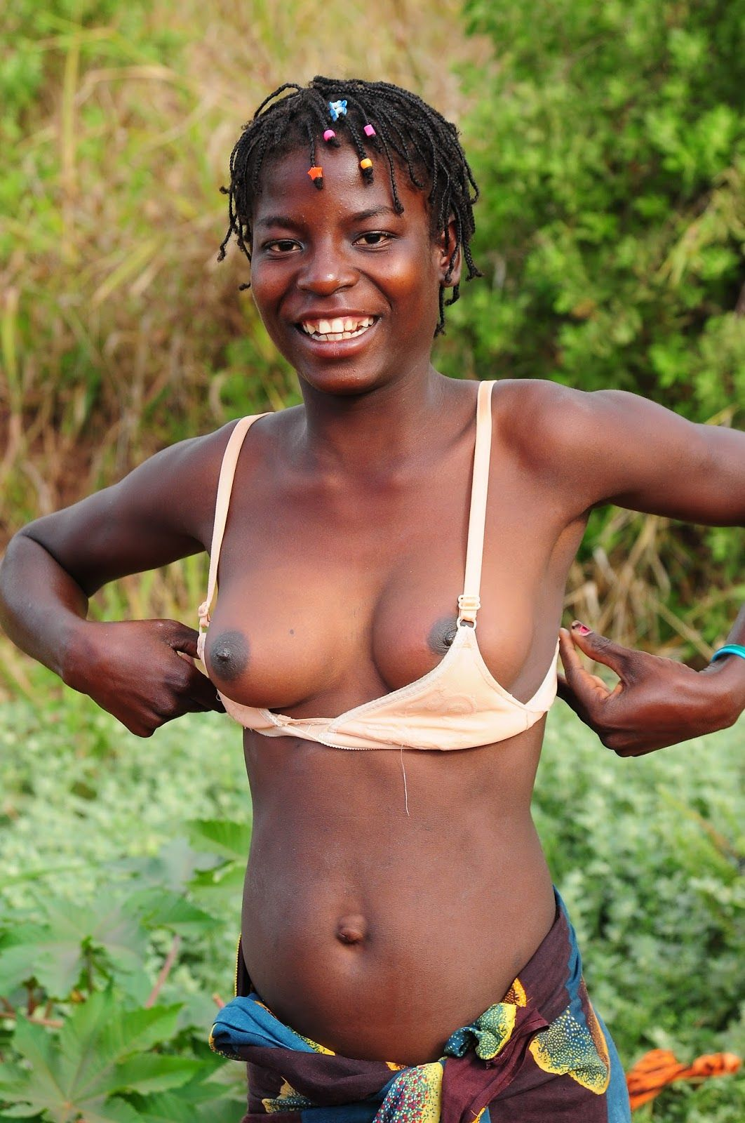 tribe african naked Girl tribal