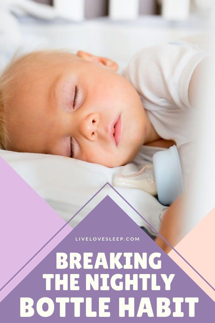 how to stop bottle feeding to sleep