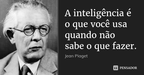 Jean Piaget Frases Pra Refletir Frases Interessantes E