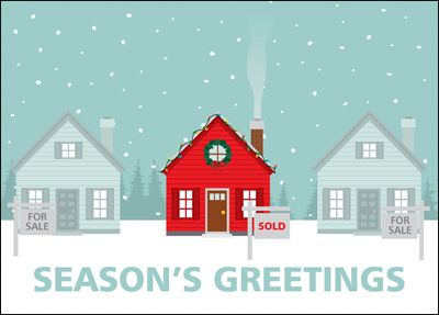 Real Estate Holiday Cards - Best Holiday 2017