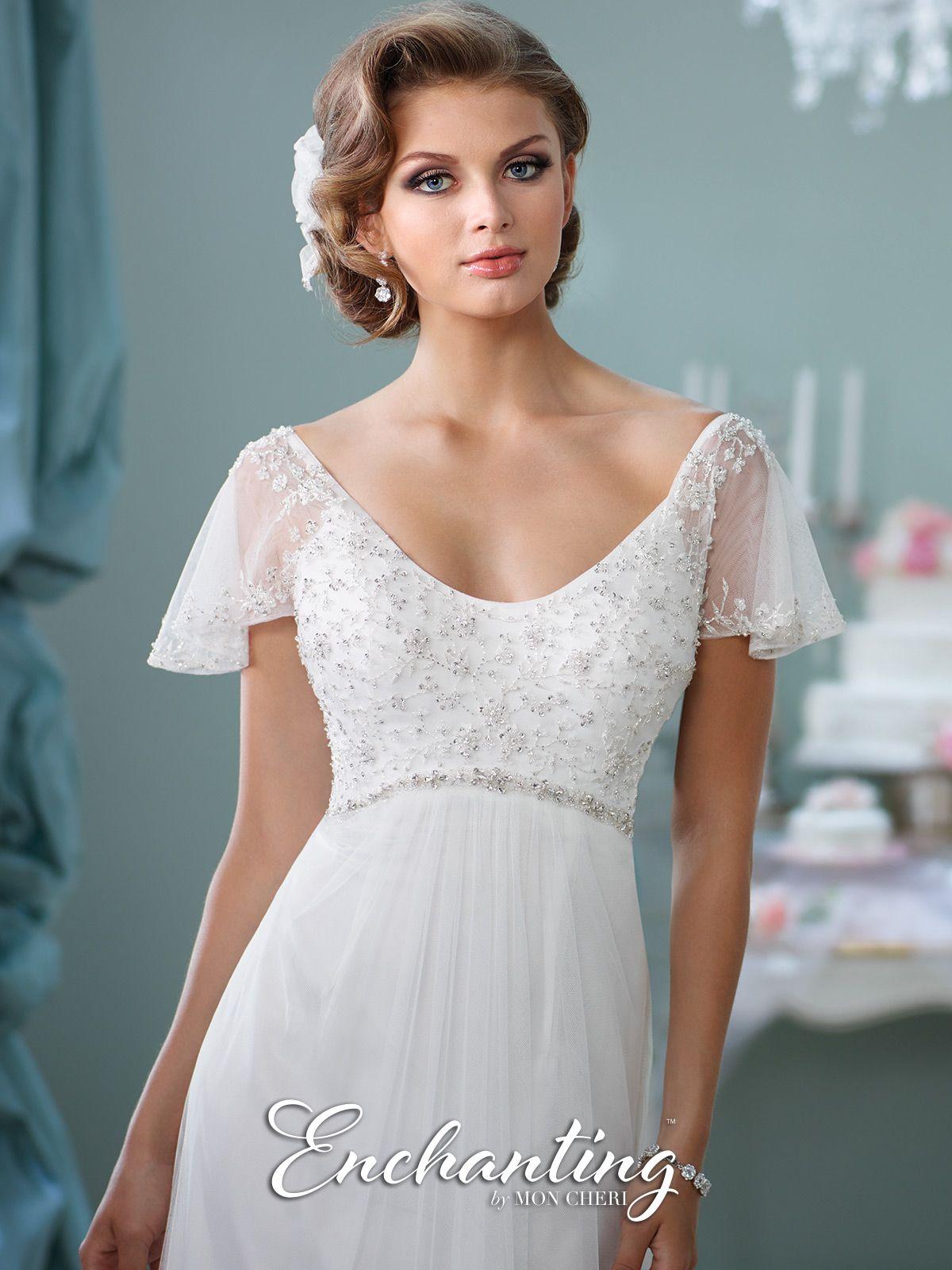 Modern wedding dresses by mon cheri ivory white destination