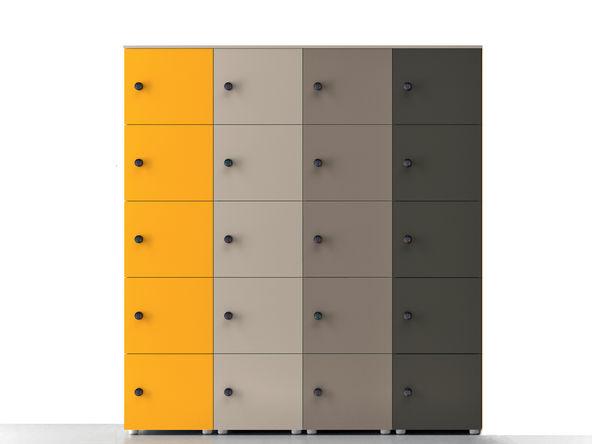 20 Casiers De Rangement Bulmin Vestiaire Bureau Casier Design Laque Casier Rangement Rangement Casier