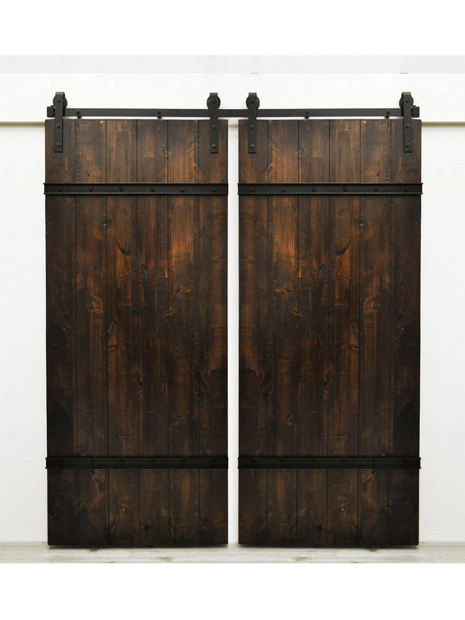 Drawbridge Handmade Double Barn Doors【2019】 Rustic