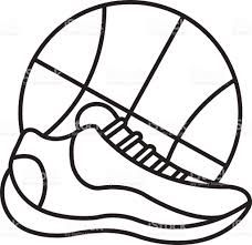 Image Result For Basketball Shoes Drawings Against A Ball