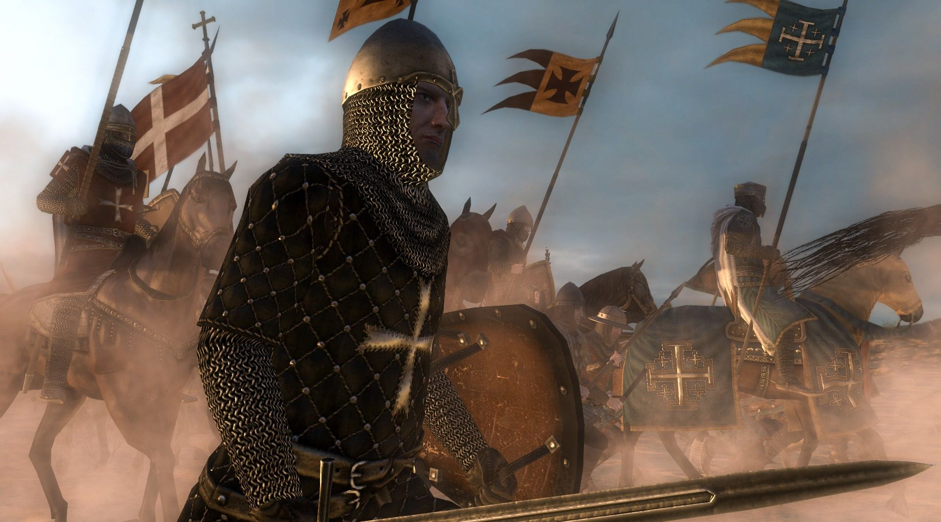 Montgisard (1177): Saladin attempts to destroy a small army from the Kingdom of Jerusalem with an army more than five times its size. Though there are only 375 knights, the Crusaders are led by the remarkable King Baldwin IV. The outcome – one of the greatest Crusader victories.