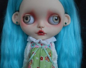 Custom Blythe Doll Faceplates & extras for by Spookykidsworkshop