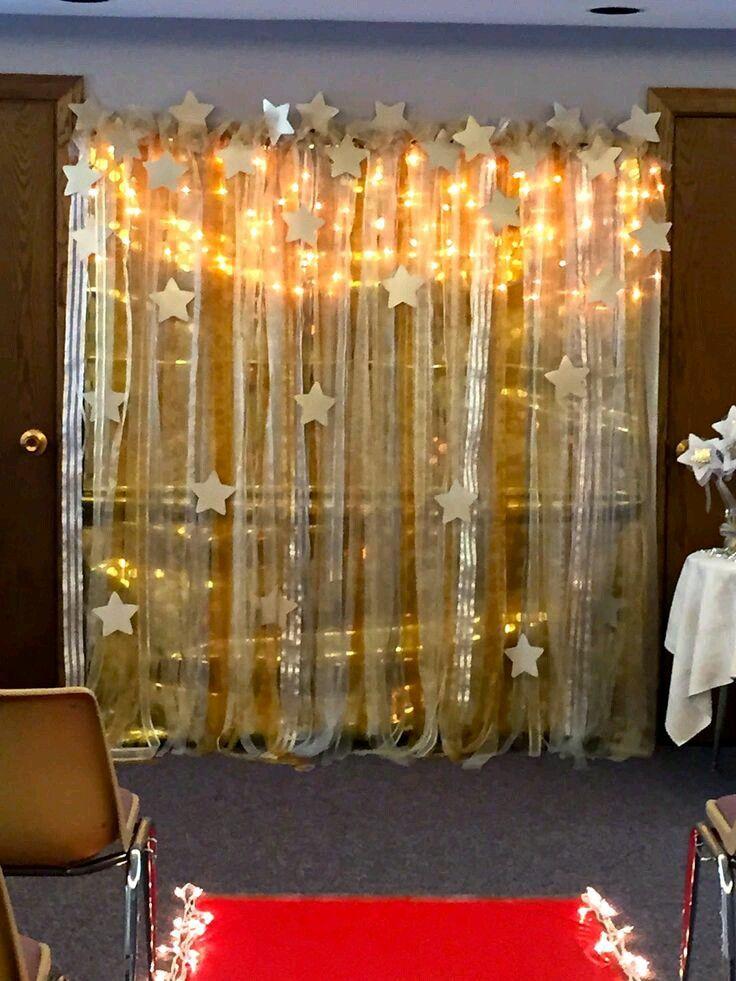 Bellas Ideas Para Una Fiesta Con Tema De Estrellas Fiesta De Estrellas Fiesta Tematica Hollywood Decoración Estrellas