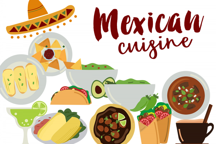 Mexican Food Clipart Free Design Of The Week Mexican Cuisine Recipes Mexican Food Recipes Mexican Cuisine