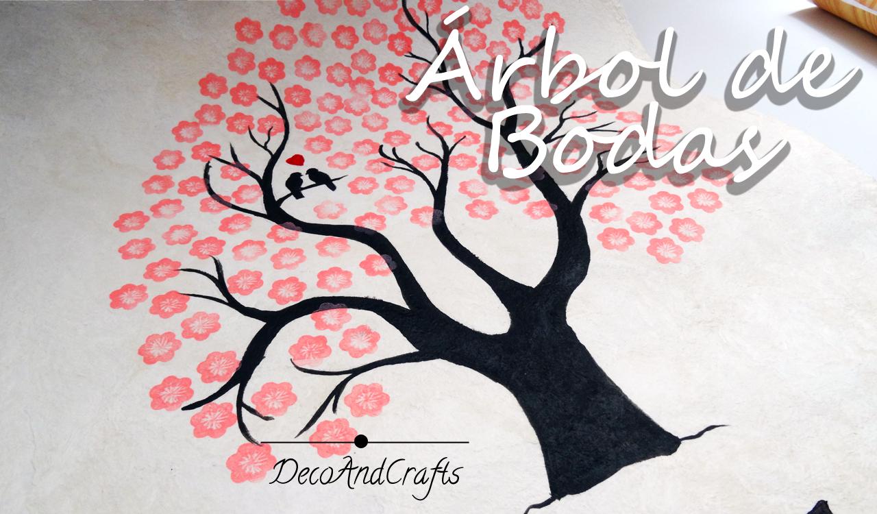 DecoAndCrafts: Arbol de firmas de boda ( Wedding Tree)