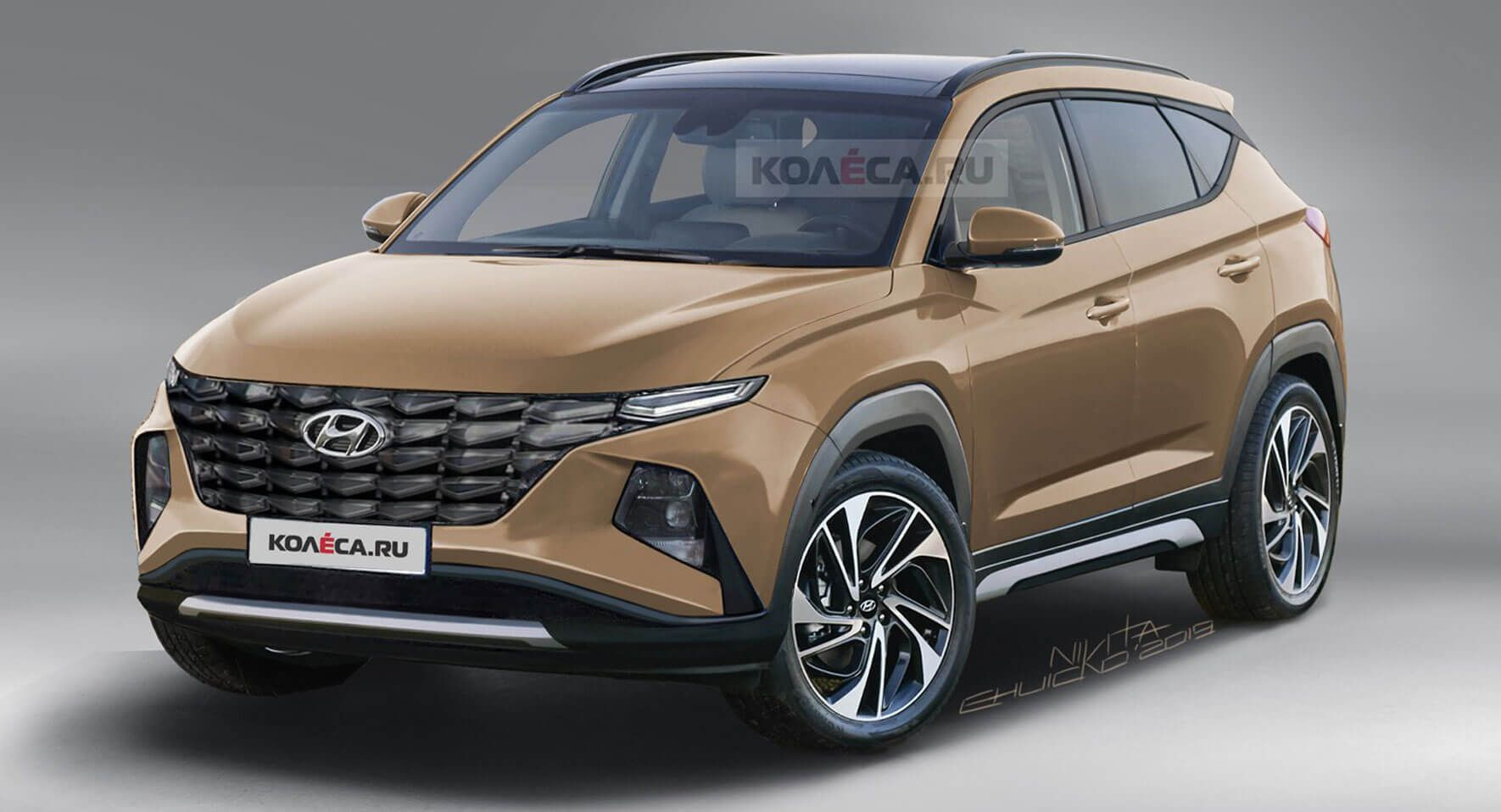 2021 Hyundai Tucson Here S A More Refined And Accurate Take On The Next Gen Model Hybrids Hyundai Hyundaitucson Renderi Hyundai Tucson New Hyundai Hyundai