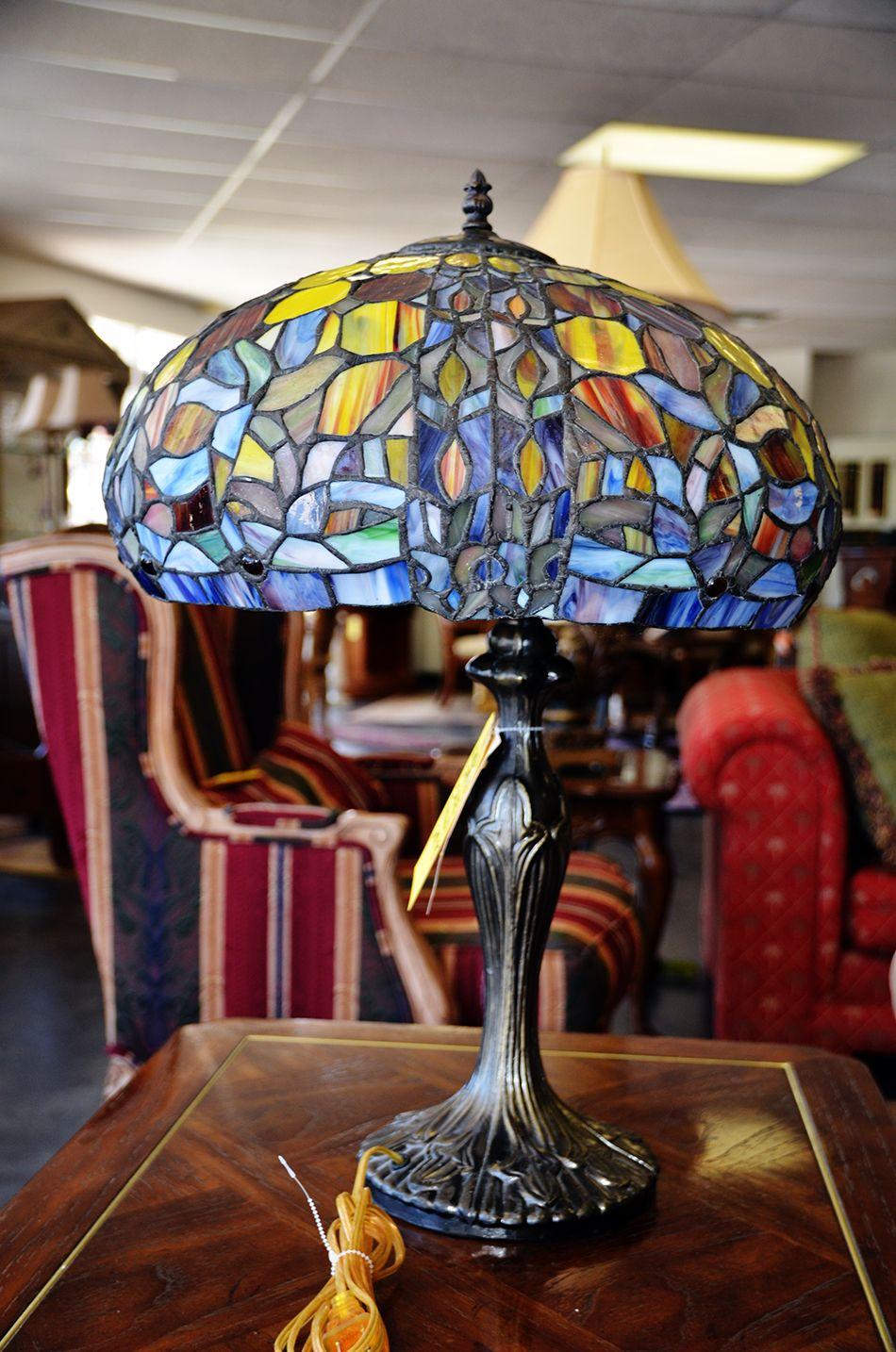 Tiffany Lamp.Castle Creek Location toogoodsa Tiffany