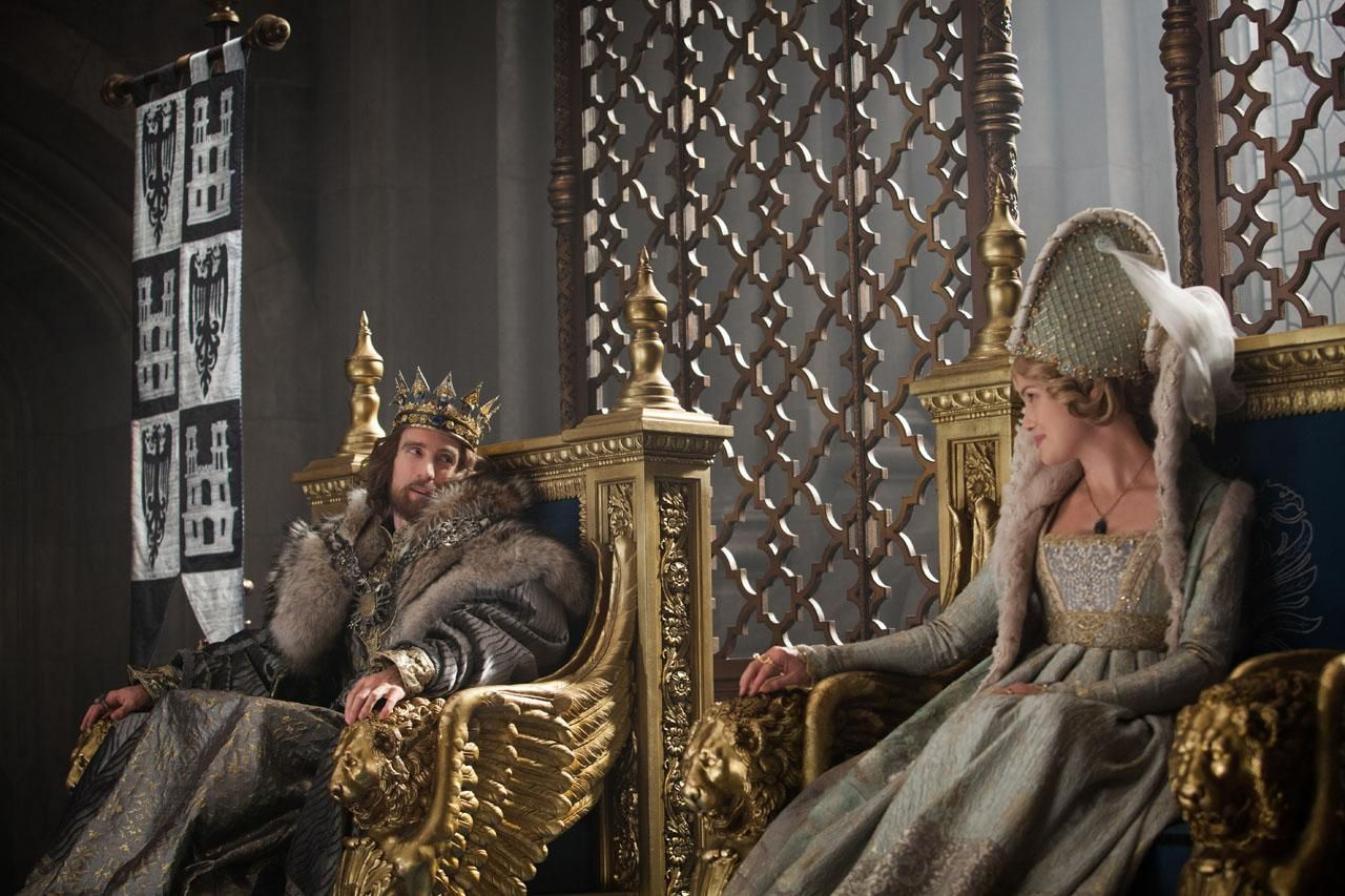 King Stefan Sharlto Copley And Queen Leila Hannah New At