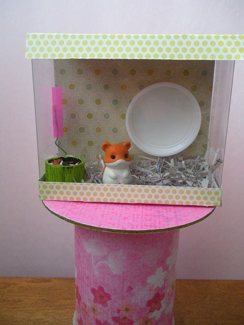 I Love Cute Crafts That Make Fun Things For Our American Dolls So We Need A Hamster Cage