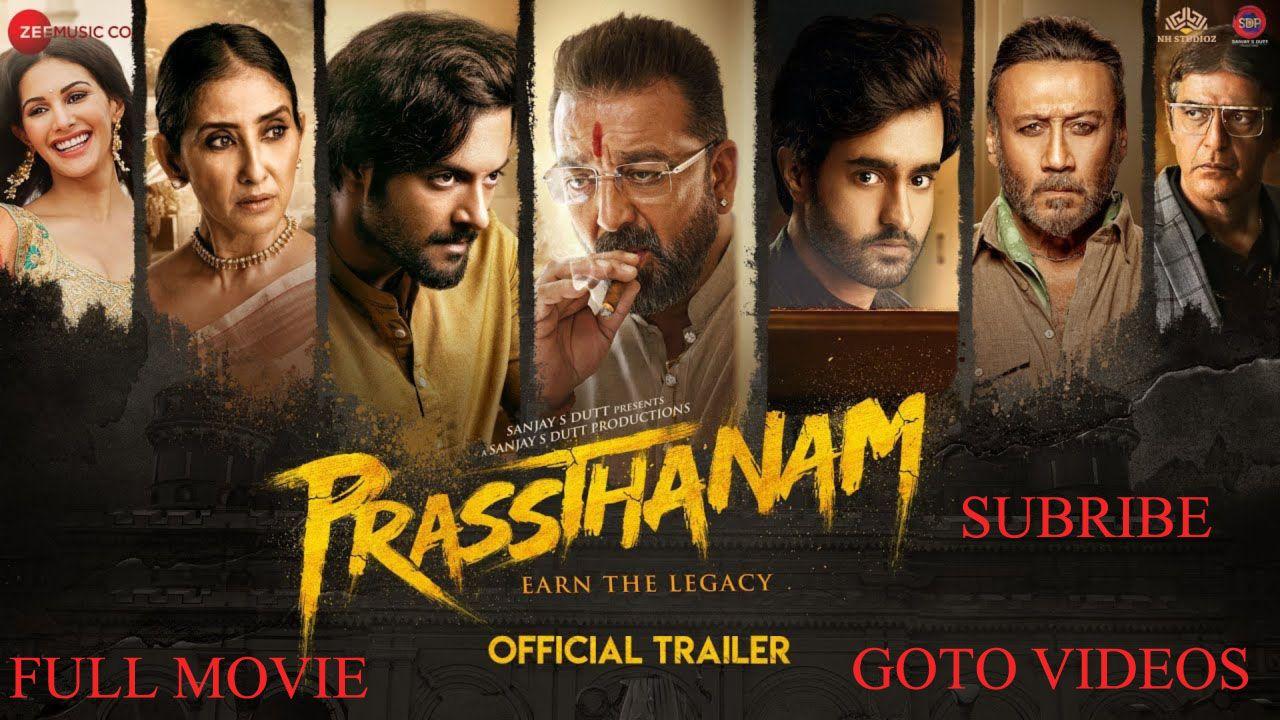 Prasthanam Sanjay Dutt New Movie 2020 in 2020 | Hindi ...